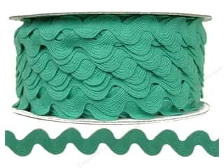Trim: Cheep Trims Ric Rac 11/16 in. Aqua (24 yards)