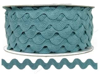 Cheep Trims Ric Rac 11/16 in. Dusty Blue (24 yards)