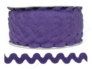 Trim: Cheep Trims Ric Rac 11/16 in. Hyacinth (24 yards)