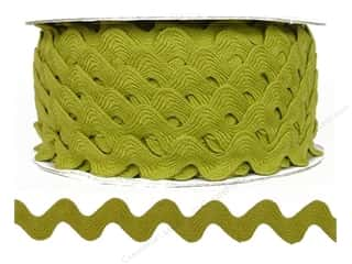 sewing & quilting: Ric Rac by Cheep Trims  11/16 in. Chartreuse (24 yards)