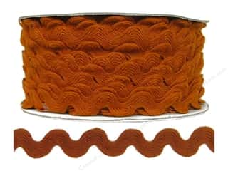 Cheep Trims Ric Rac jumbo: Ric Rac by Cheep Trims  11/16 in. Rust (24 yards)