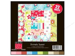 Bazzill: Bazzill 8 x 8 in. Multi Pack Divinely Sweet 22 pc.