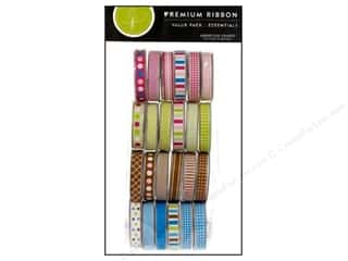 American Crafts Ribbon Value Pack 24 pc. Essentials