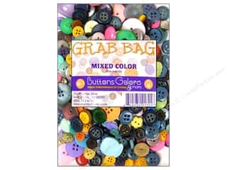 scrapbooking & paper crafts: Buttons Galore Grab Bag 6 oz. Mixed Color