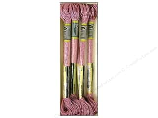 yarn & needlework: Sullivans Six-Strand Embroidery Floss 8.7 yd. Metallic Rose (6 skeins)