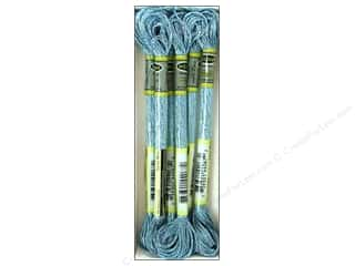 yarn: Sullivans Six-Strand Embroidery Floss 8.7 yd. Metallic Azure Blue (6 skeins)