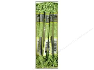 yarn & needlework: Sullivans Six-Strand Embroidery Floss 8.7 yd. Metallic Spring Green (6 skeins)