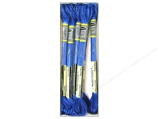 yarn & needlework: Sullivans Six-Strand Embroidery Floss 8.7 yd. Metallic Royal Blue (6 skeins)