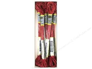 yarn & needlework: Sullivans Six-Strand Embroidery Floss 8.7 yd. Metallic Wine (6 skeins)