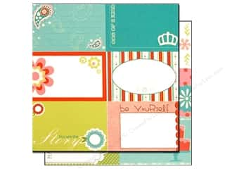 Orange Peel Bazzill Cardstock: Bazzill 12 x 12 in. Paper Lickety Slip Divinely Sweet Horizontal 25 pc.