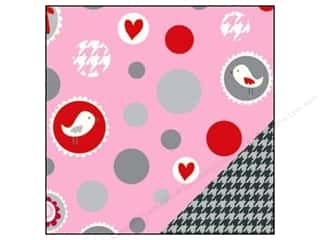 Bazzill dotted swiss cardstock: Bazzill 12 x 12 in. Paper Love Story Ball/Grey Houndstooth 25 pc.