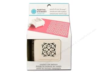 Martha Stewart Punch All Over The Page Country Tile Pattern