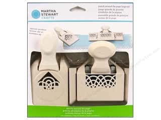 Weekly Specials Fiskars AdvantEdge Border Punches: Martha Stewart Punch Around The Page Set Spiral Arches Large