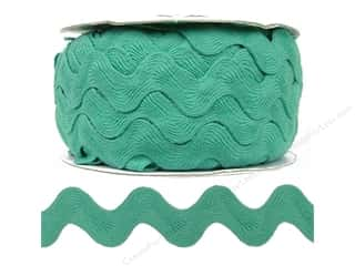 Cheep Trims Ric Rac 1 in. Aqua (24 yards)