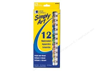 craft & hobbies: Loew Cornell Simply Art Watercolor Paints 12 pc.