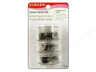 Singer Notions Fastener Variety Pack 78 pc Assorted