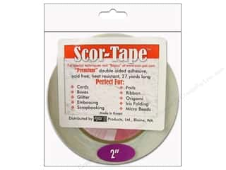 scor tape: Scor-Pal Scor-Tape Double Sided Adhesive 2 in. x 27 yd.