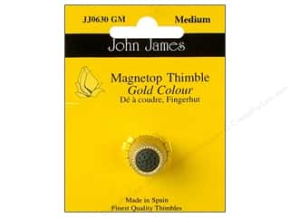 John James Magnetop Thimble Medium Gold