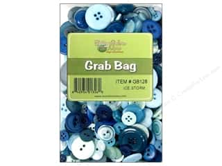 Buttons Galore & More: Buttons Galore Grab Bag 6 oz. Ice Storm