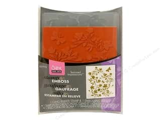 Sizzix Textured Impressions Embossing Folder with Stamp Silhouette Vines Set