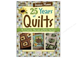 Clearance Books: Leisure Arts Debbie Mumm 25 Years Of Quilts Book