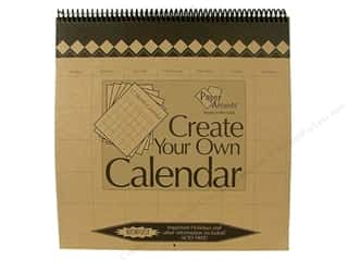 Holiday Gift Ideas Sale Scrapbooking: Paper Accents 12 Month Calendar 12 x 12 in. Brown Bag