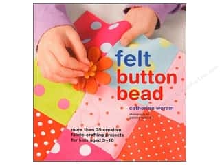 books & patterns: Ryland Peters & Small Felt Button Bead Book