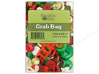 scrapbooking & paper crafts: Buttons Galore Grab Bag 6 oz. Santa