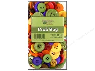 novelties: Buttons Galore Grab Bag 6 oz. Autumn