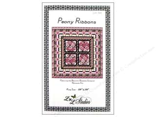 books & patterns: QuiltWoman.com Peony Ribbons Pattern
