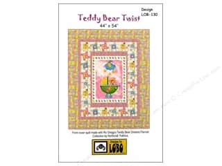 dies: QuiltWoman.com Teddy Bear Twist Pattern