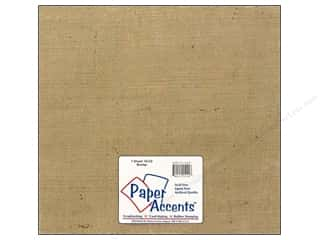 scrapbooking & paper crafts: Fabric Sheet 12 x 12 in. by Paper Accents Burlap Natural