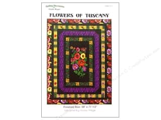 die cutting machines: QuiltWoman.com Flowers Of Tuscany Pattern