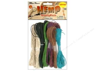 craft & hobbies: Pepperell Hemp Earthtone 10pc