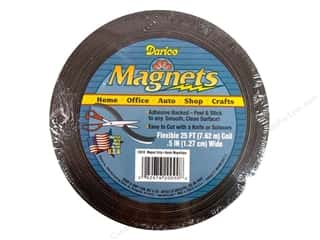 craft & hobbies: Darice Adhesive Back Magnet Strip 1/2 in. x 25 ft.