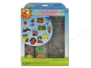 craft & hobbies: Kelly's Suncatcher Group Activity Kit 12 pc. Pirates