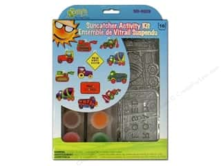 craft & hobbies: Kelly's Suncatcher Group Activity Kit 12 pc. Construction
