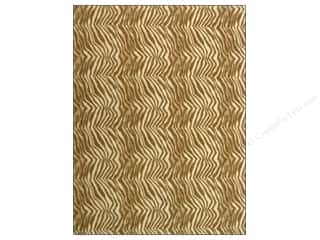 White Felt: Kunin Felt 9 x 12 in. Brown Zebra (24 sheets)