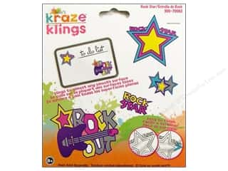 Kelly's Clings Gel Rock Star 4pc