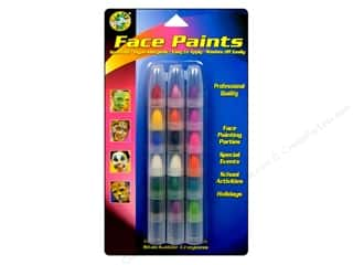 Crafty Dab Face Paint Stackable Crayons 18 pc.