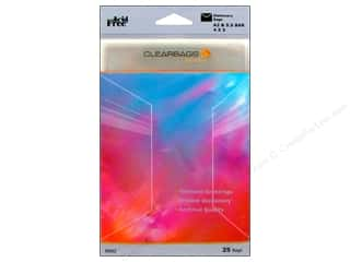 scrapbooking & paper crafts: ClearBags Crystal Clear Bag 4 1/4 x 5 1/2 in. Stationery 25 pc.