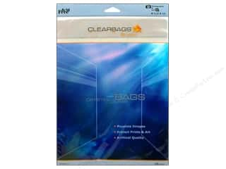 scrapbooking & paper crafts: ClearBags Crystal Clear Bag 8 1/2 x 11 in. Photo 25 pc.