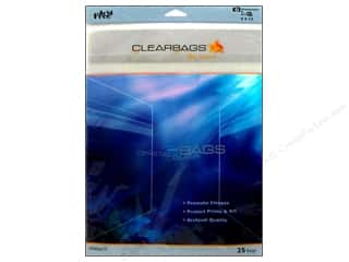 adhesive pocket: ClearBags Crystal Clear Bag 9 x 12 in. Photo 25 pc.