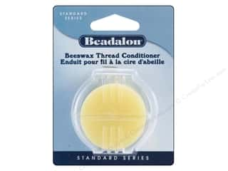 craft & hobbies: Beadalon Bees Wax Thread Conditioner 0.43 oz.