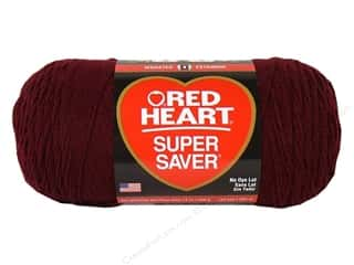 Red Heart Super Saver Jumbo Yarn 744 yd. #378 Claret