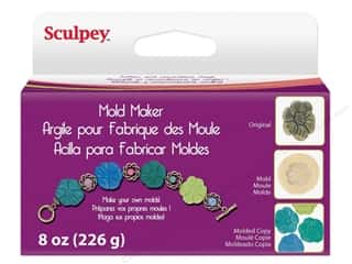 Sculpey Flexible Push Molds : Sculpey Mold Maker 8oz