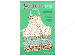 Table Runners / Kitchen Linen Patterns: Cabbage Rose Chore Girl Apron Pattern