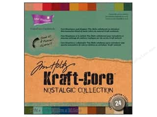 Weekly Specials Scrapbooking Organizers: Coredinations Cardstock Pack 12 x 12 in. Kraft Core Tim Holtz Nostalgic