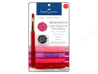 stamps: FaberCastell Gelatos Color Set 4 pc. Red