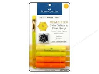stamps: FaberCastell Gelatos Color Set 4 pc. Yellow